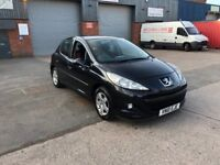 BARGAIN PRICE 2010 (10) Reg Peugeot 207 1.4 hdi 5 Door Only £30 A Year Tax Long Mot Drives Great