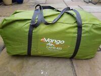 Vango Capri Airbeam 400 with carpet and footprint