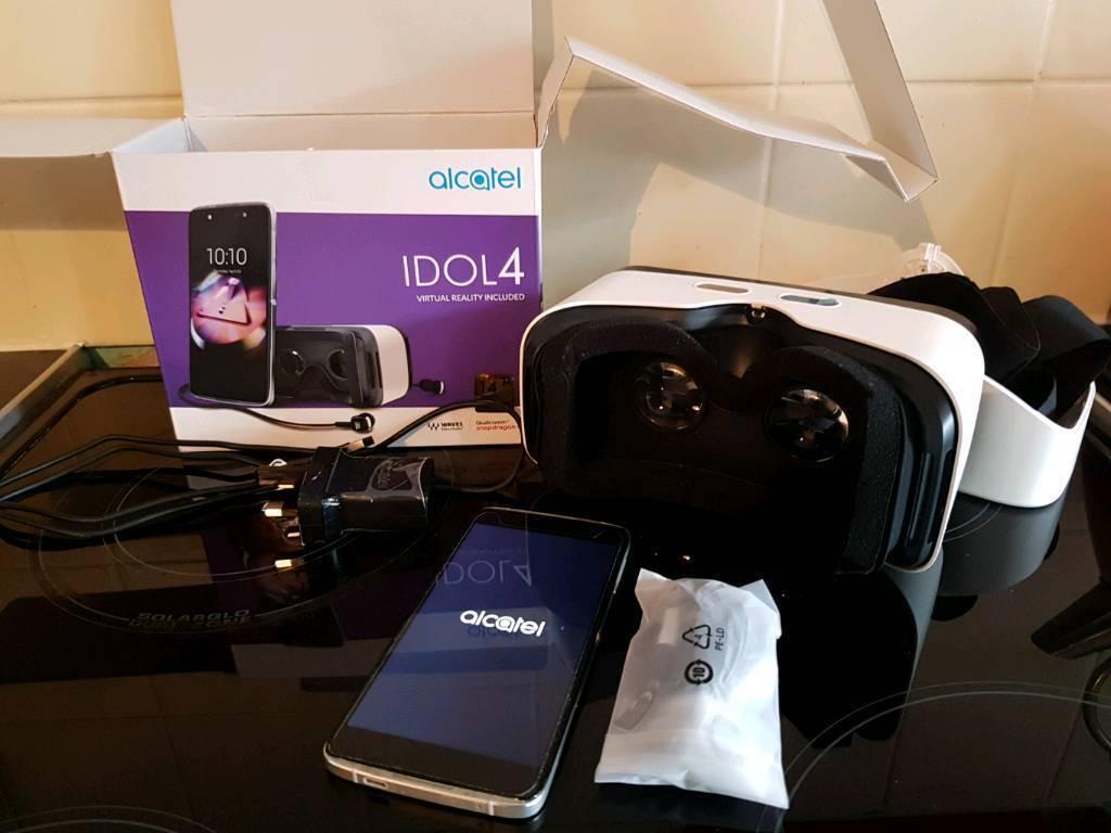 Alcatel idol 4 with vr headset