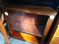 Vintage Antique Display Cabinet Sideboard Bookshelf.