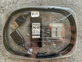 Microsoft Pharos Usb Gps-500 X12-42936 Brand New