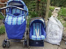 MAMAS AND PAPAS BABY TRANSPORT SYSTEM