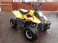 Orion Mikro 70cc Kids Quad Bike - Yellow & Black