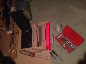 Small job lot of tools