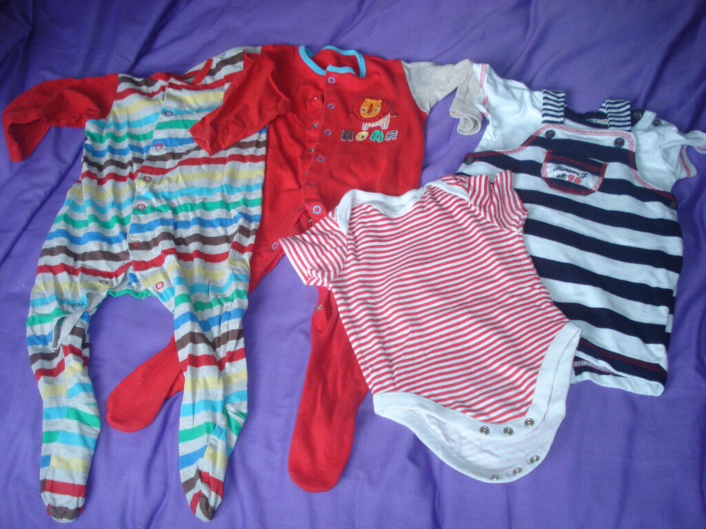 Baby boys clothes 6 to 36 months