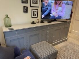 Large grey side table