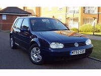 2002 Volkswagen Golf 1.9 TDI PD GT 5dr **F/S/H+CAMBELT DONE+CLEAN CAR**