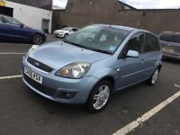2007 FORD FIESTA PETROL,FULLY LEATHER SEATS,MOT TILL NEXT YEAR,SERVICE HISTORY,2 KEYS,HPI CLEAR