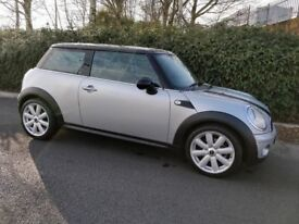 2007 Mini Cooper 1.6 – ONLY 41K MILES, FULL SERVICE HISTORY AND FULLY YEAR MOT, 6 MONTHS WARRANTY