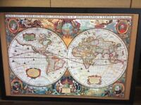 Large Ancient Map Picture