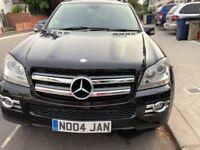 Mercedes-Benz GL Class 3.0 GL320 CDI 4 matic 5 Door Registered in November 2007 Black