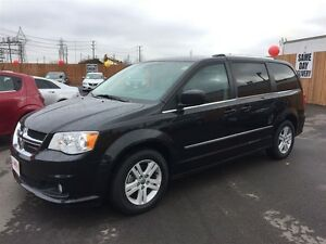 2014 DODGE GRAND CARAVAN CREW - REAR AIR & HEAT, POWER WINDOWS,
