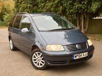 Volkswagen Sharan 1.9 TDI, 7 Seats, FSH CAMBELT DONE, not galaxy, alhambra, zafira, voyager,