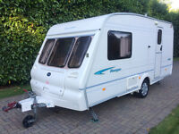 Bailey Ranger 460/2 2 berth 2002 Caravan with Motor Movers and Full Awning