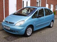 citroen picasso exclusive 1.8 petrol MOT may 18