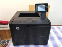 HP laserjet pro 400 m401dn laser printer