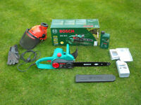 *PERFECT* Bosch AKE 40-S 1800 W Electric Chainsaw 400mm / 16 inches cutting bar