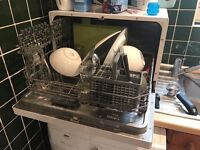 Table top Dishwasher - £ 60 - 3 year old - Good condition - Bush WQP6 -3202 FS11 - Can deliver