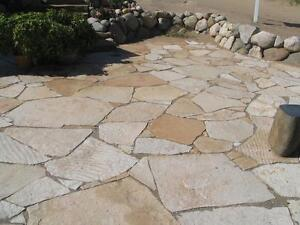 FLAGSTONES WANTED (THICK MEDIUM TO LARGE PIECES)