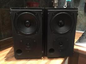 2 Mission Bookshelf Speakers