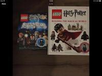 Lego Harry Potter books x2