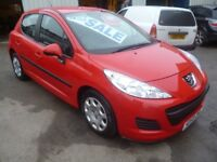 Peugeot 207 S,1360 cc 5 dr hatchback,full MOT,great looking car,runs and drives very well,great mpg