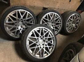 Alloy wheels 19inch rottiform replicas