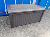 Keter Borneo Rattan Effect Garden Storage Box - 400L