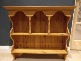 Pine Kitchen Display Unit
