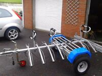 Pendle bike carrier trailer