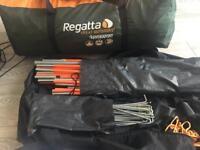 Regatta 5 man tent - with sleeping bags