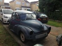 1959 Morris 1000 for restoration - good project