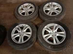 235/60 R18 Bridgestone with Hyundai Mags for sale