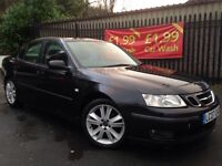 2007 Saab 9-3 1.9 Anniversary Vector sport 150bhp 6 Speed 55+ mpg top of the range