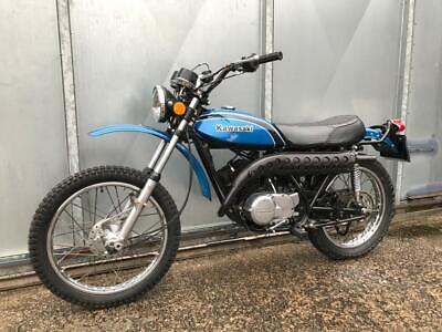 KAWASAKI KE 175 VERY RARE CLASSIC TRIAL TRAIL BIKE £3295 OFFERS PX KT KL 250