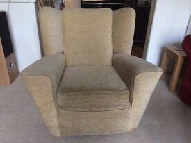 1940s vintage armchair