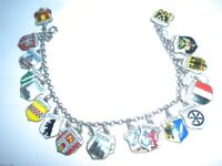 Very old charm bracelet with shields of Germany