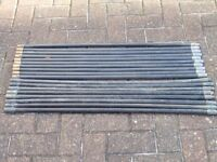 Chimney or Drain Rods x 18