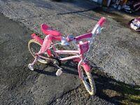 Girls Sparkle & Glitz bike