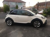 Vauxhall Adam Rocks 1.2L FFS 11 month MOT ONE LADY OWNER HIGH SPEC WITH BROWN INTERIOR PART LEATHER