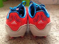 Football boots size 11 & 12 junior Umbro Premio FG and Adidas F10 TRX