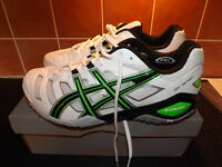 ASICS GEL-SENSEI 4 Indoor Court Shoes - Brand New. Size 10 UK.