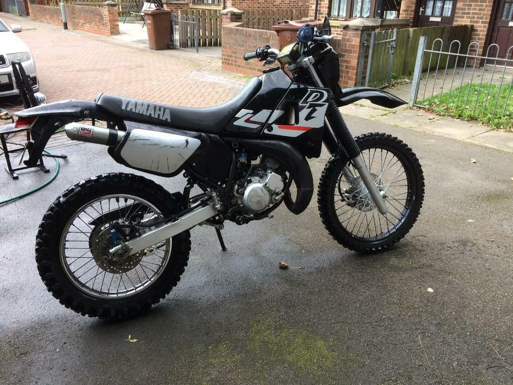 DT 125 R Yamaha dtr road legal (not kx yz cr rm tm 250 85 )