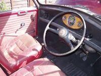 Riley elf or wolesley Hornet interior