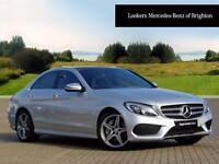Mercedes-Benz C Class C250 D AMG LINE PREMIUM PLUS (silver) 2015-11-30
