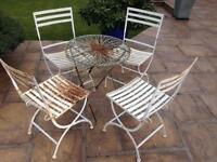 Vintage retro patio furniture