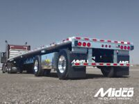 Flat bed trucker needed for a job