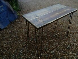 Industrial shabby chic Vintage rustic table