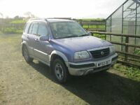SUZUKI GRAND VITARA 2.0 PETROL. 12 MONTHS MOT. 5 DOOR. TOW BAR. 115500 MILEAGE.