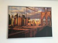Ikea Brooklyn Bridge Print